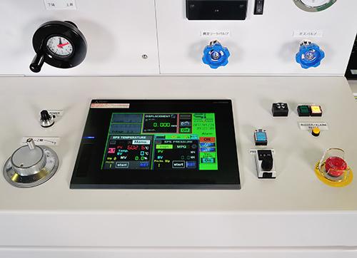制御性能に優れた加圧機構