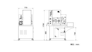 LABOX-100-200シリーズ 外形寸法図