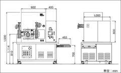 LABOX-GHシリーズ 外形寸法図